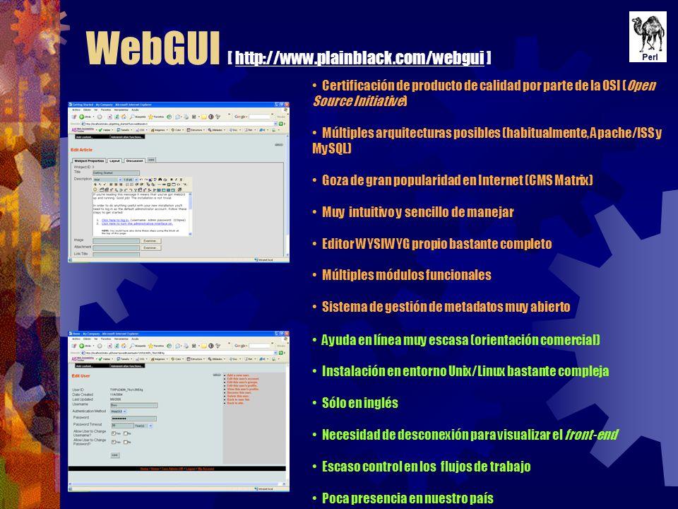 WebGUI [ http://www.plainblack.com/webgui ]